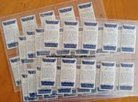 1938 BARGAIN set of 50 Well Known Scottish Footballers by John Sinclair tobacco
